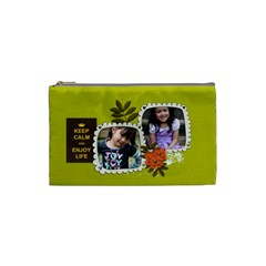 Cosmetic Bag (s):  Keep Calm By Jennyl   Cosmetic Bag (small)   0tw0146qg9wl   Www Artscow Com Front