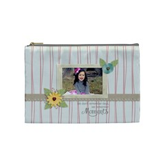 Cosmetic Bag (m):  Moments By Jennyl   Cosmetic Bag (medium)   Rxsjg2et0du4   Www Artscow Com Front