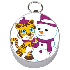 Winter Time Zoo Friends   004 Silver Compass by Colorfulart23