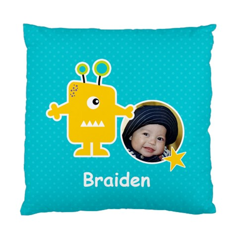 Cushion Case (one Side) : Monster 1 By Jennyl   Standard Cushion Case (one Side)   Nnjvnvg0e3st   Www Artscow Com Front