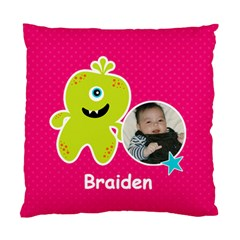Cushion Case (two Sides) : Monster 2 By Jennyl   Standard Cushion Case (two Sides)   Jrcq8xgrrio8   Www Artscow Com Front