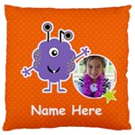 Large Cushion Case (One Side) : Monster 5