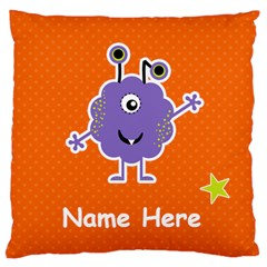 Large Cushion Case (two Sides) : Monster 5 By Jennyl   Large Cushion Case (two Sides)   O8r4ise9a2qh   Www Artscow Com Back