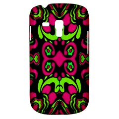 Psychedelic Retro Ornament Print Samsung Galaxy S3 Mini I8190 Hardshell Case by dflcprints