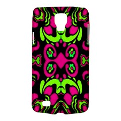 Psychedelic Retro Ornament Print Samsung Galaxy S4 Active (i9295) Hardshell Case by dflcprints