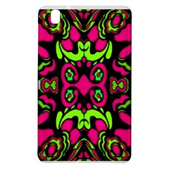 Psychedelic Retro Ornament Print Samsung Galaxy Tab Pro 8 4 Hardshell Case by dflcprints