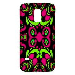 Psychedelic Retro Ornament Print Samsung Galaxy S5 Mini Hardshell Case  by dflcprints