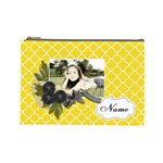 Cosmetic Bag (L): Black Ribbon - Cosmetic Bag (Large)