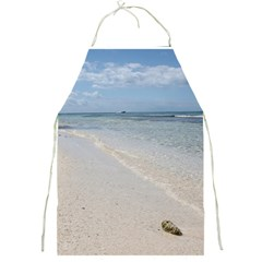 Seashell On Caribbean Beach Apron by stineshop