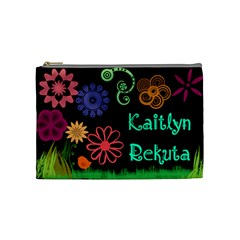 Kaitlyn By Jeni   Cosmetic Bag (medium)   Dbkcnrizesrp   Www Artscow Com Front