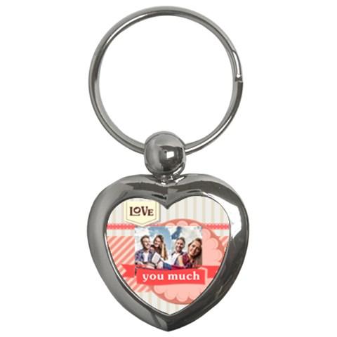Love By Ki Ki   Key Chain (heart)   Lceujdxbta6k   Www Artscow Com Front