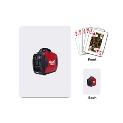 2000w Petrol Inverter Generator Playing Cards (mini) by hinterlandparts