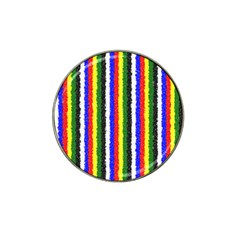Basic Colors Curly Stripes Golf Ball Marker (for Hat Clip)