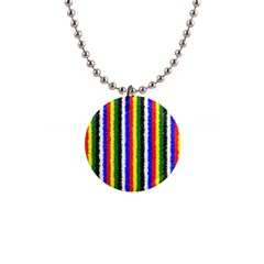 Basic Colors Curly Stripes Button Necklace by BestCustomGiftsForYou