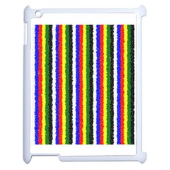 Basic Colors Curly Stripes Apple Ipad 2 Case (white) by BestCustomGiftsForYou
