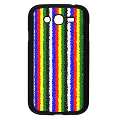 Basic Colors Curly Stripes Samsung Galaxy Grand Duos I9082 Case (black) by BestCustomGiftsForYou