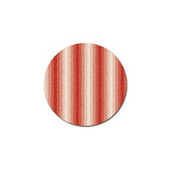 Red Curly Stripes Golf Ball Marker by BestCustomGiftsForYou