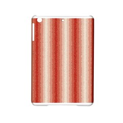 Red Curly Stripes Apple Ipad Mini 2 Hardshell Case by BestCustomGiftsForYou