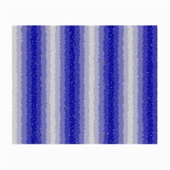 Dark Blue Curly Stripes Glasses Cloth (small) by BestCustomGiftsForYou