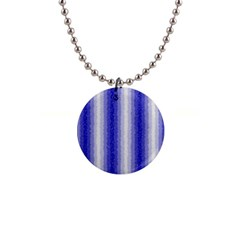 Dark Blue Curly Stripes Button Necklace by BestCustomGiftsForYou