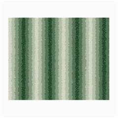 Dark Green Curly Stripes Glasses Cloth (small, Two Sided) by BestCustomGiftsForYou