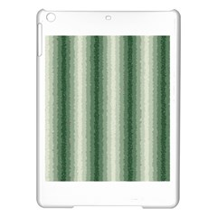 Dark Green Curly Stripes Apple Ipad Air Hardshell Case by BestCustomGiftsForYou