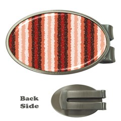 Native American Curly Stripes - 1 Money Clip (Oval)