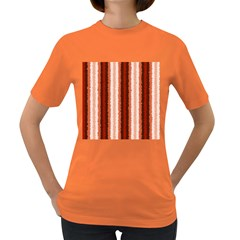 Native American Curly Stripes   1 Women s T Shirt (colored) by BestCustomGiftsForYou