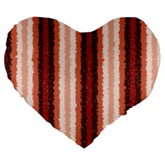Native American Curly Stripes   1 19  Premium Heart Shape Cushion by BestCustomGiftsForYou