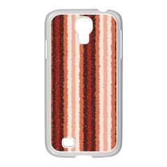 Native American Curly Stripes   1 Samsung Galaxy S4 I9500/ I9505 Case (white) by BestCustomGiftsForYou