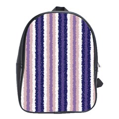 Native American Curly Stripes   2 School Bag (large) by BestCustomGiftsForYou
