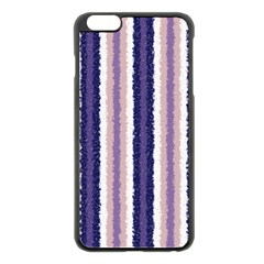 Native American Curly Stripes - 2 Apple iPhone 6 Plus Black Enamel Case by BestCustomGiftsForYou