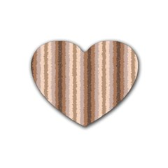 Native American Curly Stripes   3 Drink Coasters (heart) by BestCustomGiftsForYou