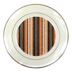 Native American Curly Stripes   4 Porcelain Display Plate by BestCustomGiftsForYou