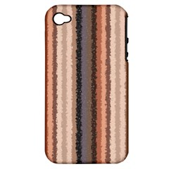 Native American Curly Stripes   4 Apple Iphone 4/4s Hardshell Case (pc+silicone) by BestCustomGiftsForYou