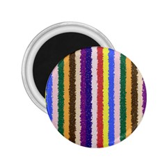 Vivid Colors Curly Stripes   1 2 25  Button Magnet by BestCustomGiftsForYou