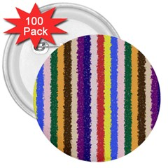 Vivid Colors Curly Stripes   1 3  Button (100 Pack) by BestCustomGiftsForYou