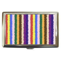 Vivid Colors Curly Stripes   1 Cigarette Money Case by BestCustomGiftsForYou