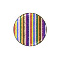 Vivid Colors Curly Stripes   1 Golf Ball Marker (for Hat Clip) by BestCustomGiftsForYou