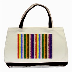 Vivid Colors Curly Stripes   1 Classic Tote Bag by BestCustomGiftsForYou