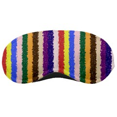Vivid Colors Curly Stripes   1 Sleeping Mask by BestCustomGiftsForYou