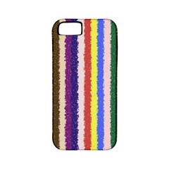 Vivid Colors Curly Stripes   1 Apple Iphone 5 Classic Hardshell Case (pc+silicone) by BestCustomGiftsForYou