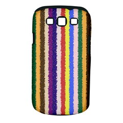 Vivid Colors Curly Stripes   1 Samsung Galaxy S Iii Classic Hardshell Case (pc+silicone) by BestCustomGiftsForYou