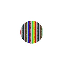 Vivid Colors Curly Stripes   2 1  Mini Button Magnet by BestCustomGiftsForYou
