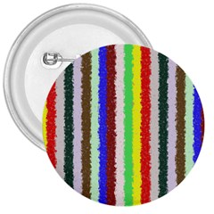 Vivid Colors Curly Stripes   2 3  Button by BestCustomGiftsForYou