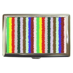 Vivid Colors Curly Stripes   2 Cigarette Money Case by BestCustomGiftsForYou