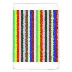 Vivid Colors Curly Stripes   2 Removable Flap Cover (large) by BestCustomGiftsForYou