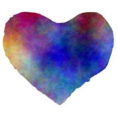 Plasma 5 19  Premium Heart Shape Cushion by BestCustomGiftsForYou