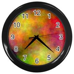 Plasma 8 Wall Clock (black) by BestCustomGiftsForYou