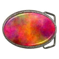 Plasma 10 Belt Buckle (oval) by BestCustomGiftsForYou